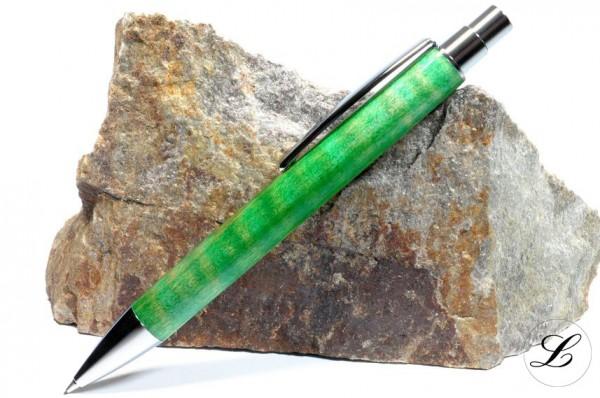 Hamburg Klick Bleistift aus Riegelarhorn, gebeizt