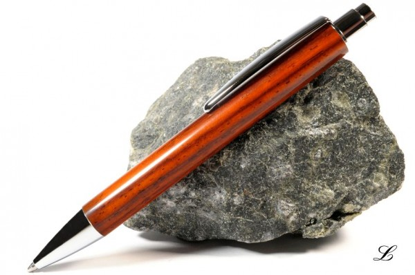 Hamburg Klick-Kugelschreiber aus Cocobolo